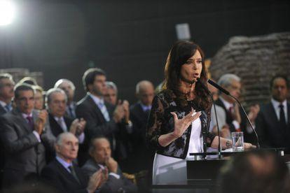 Cristina Fernández habla sobre la crisis energética ante la oposición