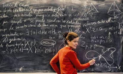 María Pe Pereira, profesora e investigadora de la Universidad Complutense de Madrid.