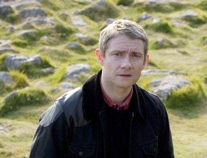 Martin Freeman como Watson en la adaptación televisiva de la BBC. Un tipo ideal para resolver misterios y ese compañero de piso que siempre friega los platos y nunca te roba la leche