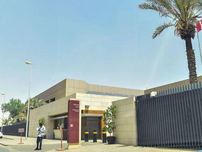 Embajada canadiense en Riad.