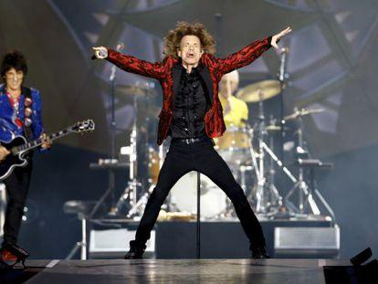 Los Rolling Stones en el estadio Bernabéu.