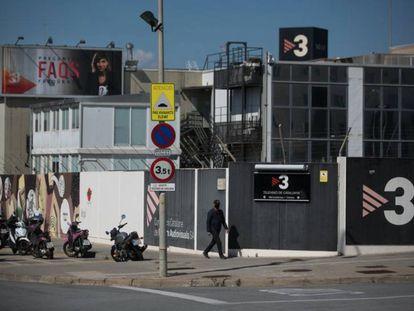 Sede de TV3 en Sant Joan Despí. / [ALBERT GARCIA]
