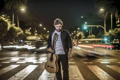 El guitarrista Dani de Morón, en Sevilla.