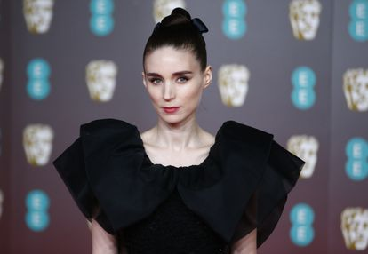 Rooney Mara arrives at the British Academy of Film and Television Awards (BAFTA) at the Royal Albert Hall in London, Britain, February 2, 2020. REUTERS/Henry Nicholls