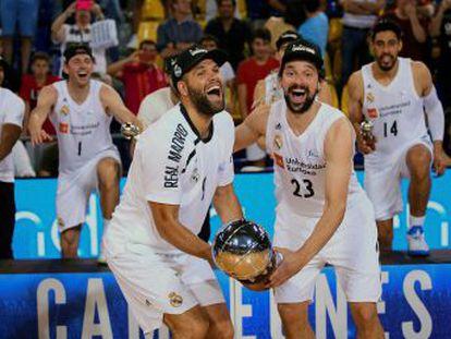 Los blancos conquistan su 17º título con el técnico vitoriano, el 10º ante el Barça