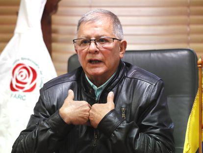 Rodrigo Granda, exdirigente de las FARC, en 2020.