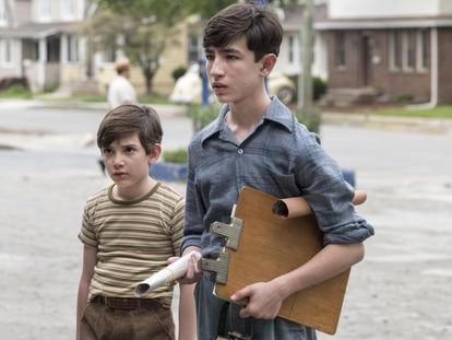 Azhy Robertson y Caleb Malis, en 'La conjura contra América'.