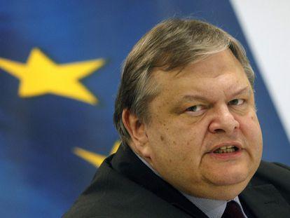 El ministro de Finanzas griego, Evangelos Venizelos.