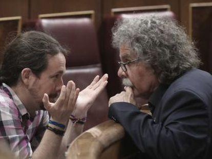 No es un apoyo al PSOE, es un rechazo a Rajoy , dice Tardà. Campuzano admite que  va a costar entender  su posición