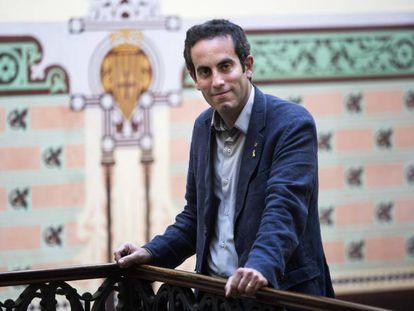 Marc Ramentol, secretario general de Salud, en la sede del Departamento.