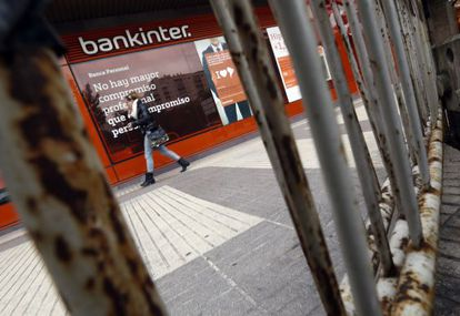 Oferta hipotecaria en una sucursal bancaria de Madrid