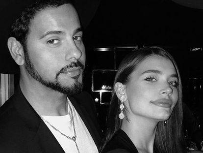 Eva de Dominici y Eduardo Cruz, en una foto del perfil de Instagram de la actriz.
