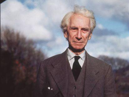 Bertrand Russell, alrededor de 1965.