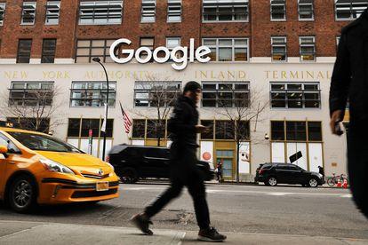 Oficina de Google en Nueva York.