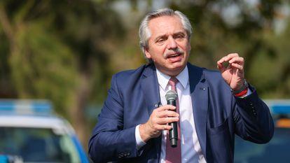 Alberto Fernández, presidente de Argentina, en una imagen del 16 de abril.