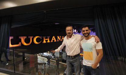 Los actores Juan Diego y Fran Perea, socios de los Luchana.