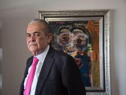 Xavier Olea, exfiscal de Guerrero, en Ciudad de México el pasado 18 de marzo.