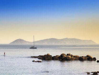 Parque nacional marítimo-terrestre de las Islas Atlánticas, en la provincia de Pontevedra.