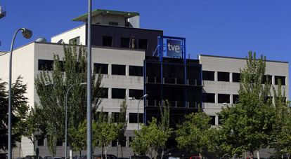 Sede de RTVE en Prado del Rey, en Madrid