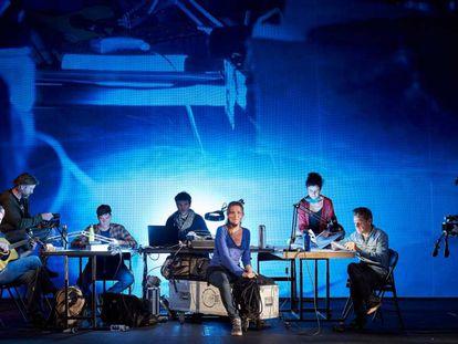Captura de pantalla de 'Bouvetoya', el espectáculo inaugural de Temporada Alta.