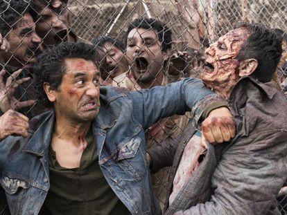 Los zombis de 'Fear the Walking Dead' se asientan en la frontera