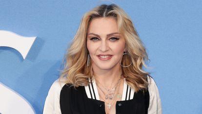 Madonna en la presentación en Londres de 'The Beatles: Ocho días a la semana' en 2018.