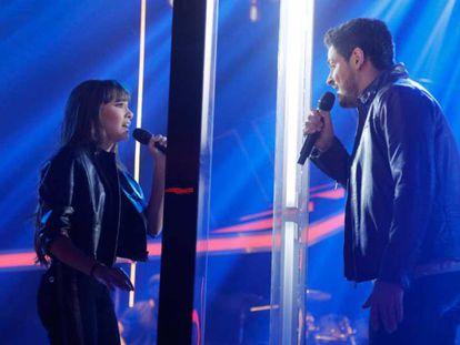 Aitana y Cepeda, concursantes de 'OT'. Foto: RTVE.es