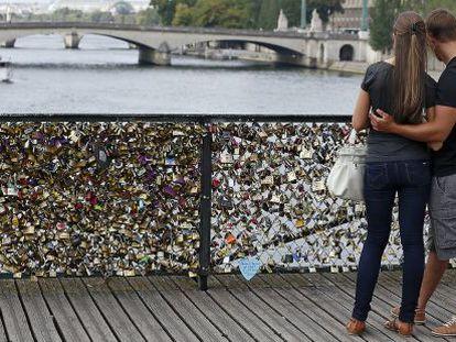 El Pont des Arts de París.