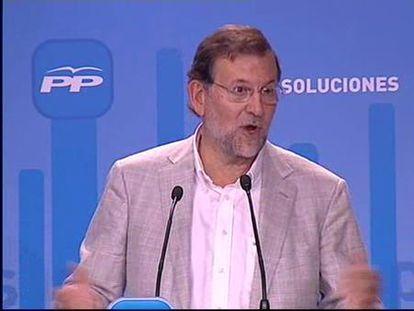 """Rajoy: """"¿Se habrá hecho de derechas Zapatero?"""""""