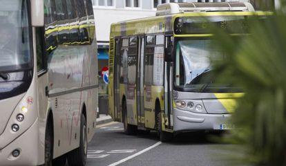Autobuses urbanos en Santiago