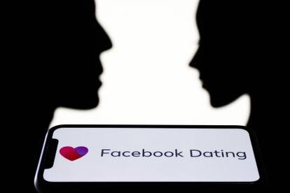 El logo de Facebook Dating.