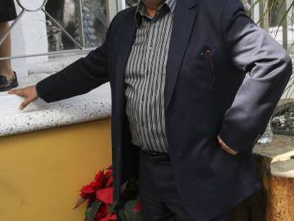 El comediante Carlos Bonavides en diciembre.
