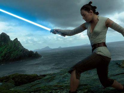 Fotograma de 'Star Wars. Episodio VIII. El último Jedi'.