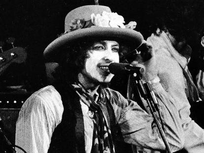Bob Dylan, en una imagen de archivo durante la gira 'Rolling Thunder Reveu' de 1976.