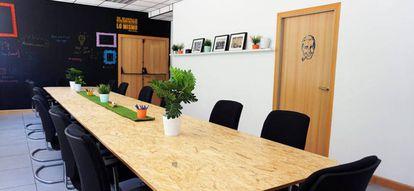 Las instalaciones de este coworking no serían iguales sin sus plantas