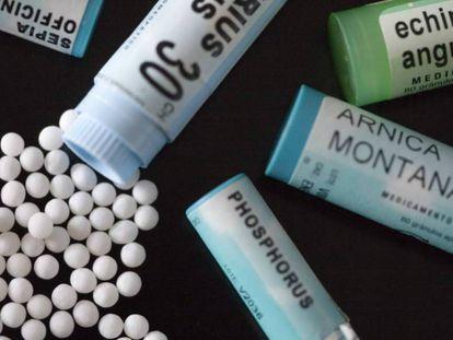 Productos homeopáticos.