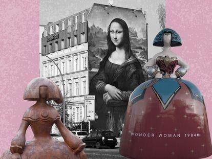 En el invierno pasado Las Meninas estaban por todas partes en Madrid. Seguramente se tropezó con alguna.