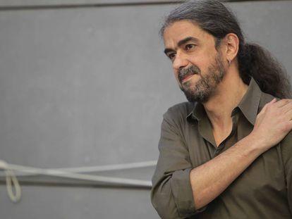Fernando León, esta mañana en la Academia de Cine.