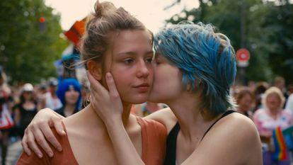 Fotograma de la película francesa 'La vida de Adèle'