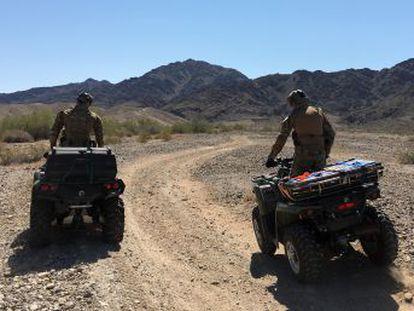 En el desierto de Arizona, la parte más peligrosa de la frontera, la coordinación entre México y EE UU salva cientos de vidas al año
