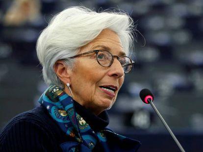 Christine Lagarde, presidenta del BCE.