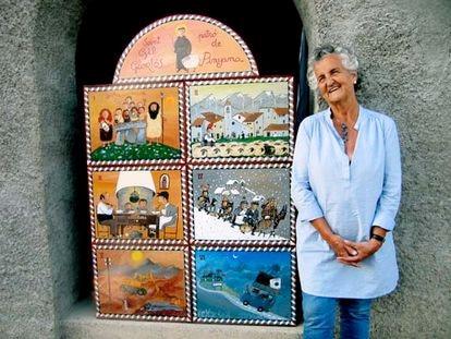 La ilustradora Roser Capdevila, 'madre' de 'Les tres bessones'.