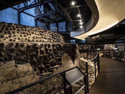 Ventanas arqueológicas de Ciudad de México, en imágenes