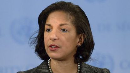 Susan Rice, hasta ahora embajadora de EE UU en la ONU.