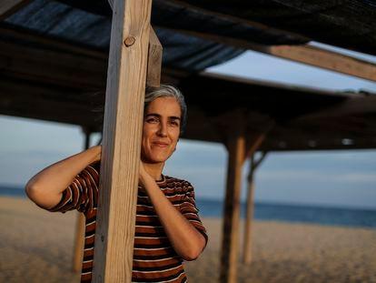 Sonia Pulido, este martes en Barcelona.
