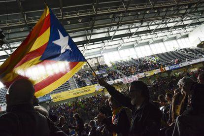Vista general de la asamblea de la ANC en Lleida.