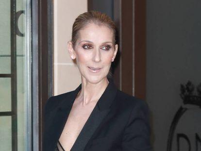 Celine Dion en julio de 2017 en París.