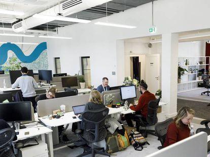 Oficina de Google en Berlín, el pasado enero.