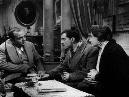 Una escena de 'El pisito' (1958).