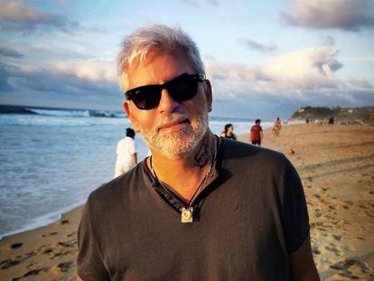 Daniel Cipolat, el gurú argentino cuyo cuerpo fue encontrado en Cancún, en una foto de sus redes sociales.